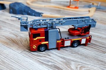 |toy fire engine