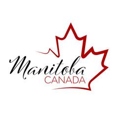 Canada Province Design - Manitoba