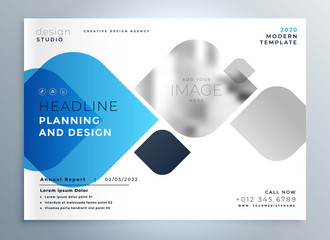 business cover page template design for your brand in creative style