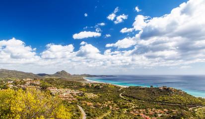 Panorama di Costa Rei, Sardegna