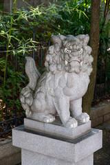 難波神社のこまいぬ