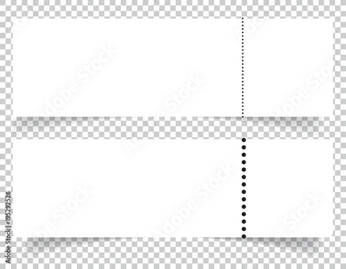 Blank Event Concert Ticket Mockup Template Party Or Festival Design