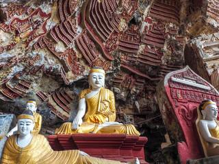 Kawgun Cave, Hpa-An, Myanmar