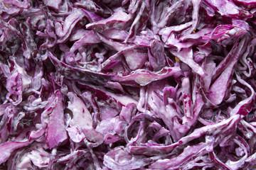 blue cabbage texture