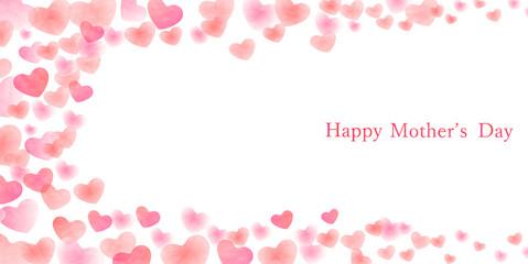母の日 ハート ピンク 背景