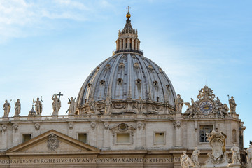 Papal Basilica of St. Peter's in the Vatican