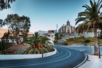 Eine Kirche im Dorf Santa Lucia, Gran Canaria