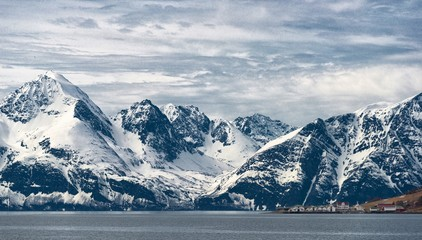 Fjord d'Alta, Norvège