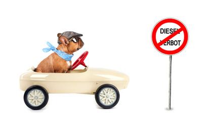 Umweltverschmutzung - Diesel Fahrverbot