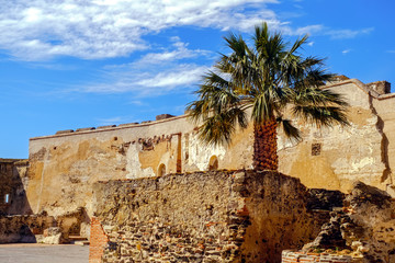 The Castle of Sohail. Fuengirola, Spain. Tourist's attraction in Andalucia.