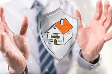 Concept of house protection