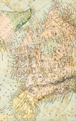 Antique Map of North America - Early 1800 Vintage  Maps of the World
