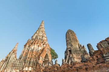 タイ・アユタヤ・遺跡・ワット・チャイワッタナーラーム