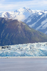 USA, Alaska, St. Elias Mountains, Hubbard Glacier