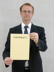 Vertrag anbieten