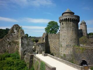 Château de Fougères, Bretagne, France