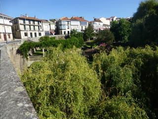 Allariz, pueblo  de Ourense / Orense, comunidad autónoma de Galicia (España)