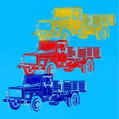 Camion pop art