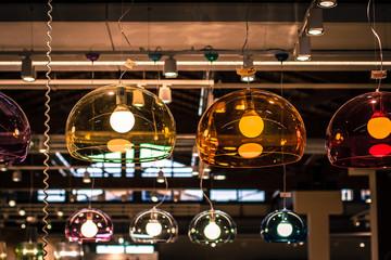 Lampadari colorati