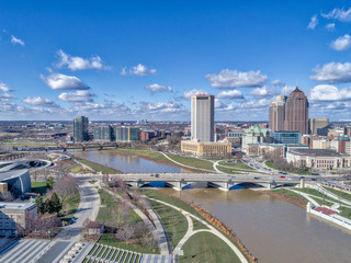 Downtown Columbus Scioto River