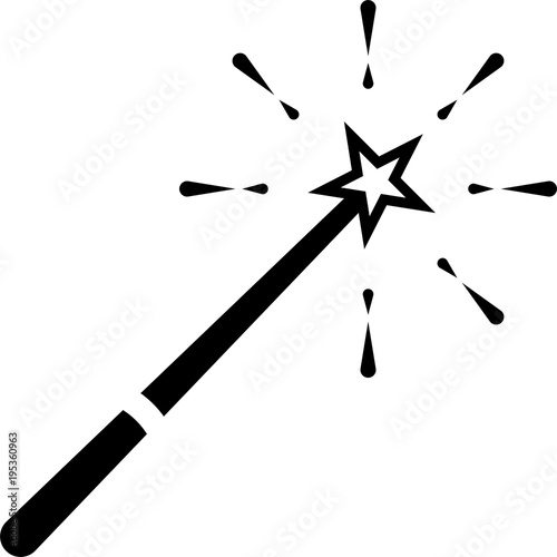 Magic Wand Icon Stock Image And Royalty Free Vector Files On