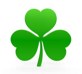 Shamrock St. Patrick's Day Isolated