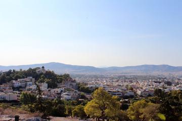 City view ofAthens, Attica, Greece