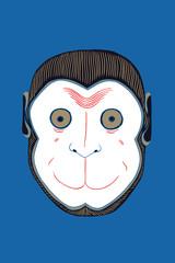 Japanese Monkey Mask