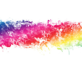 Colorful Abstract Artistic Watercolor Paint Background