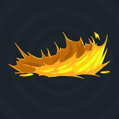 illustration fire