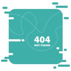 Error 404 page not found layout vector design. Website Modern creative concept