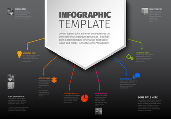 Infographic Layout with Large Top Banner