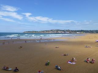 Gijón, ciudad costera de Asturias en el norte de España