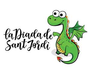 la Diada de Sant Jordi (the Saint George's Day).