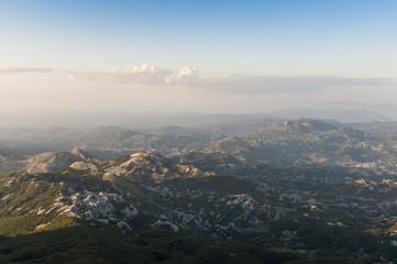 Landscape at Lovćen national park