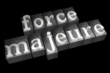 Force majeure concept