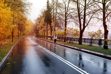 Beautiful paved road