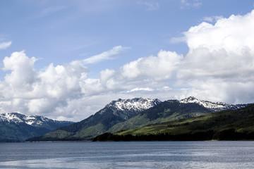 juneau mountains scenery ocean