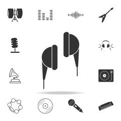 acoustic guitar icon. Detailed set icons of Music instrument element icons. Premium quality graphic design. One of the collection icons for websites, web design, mobile app
