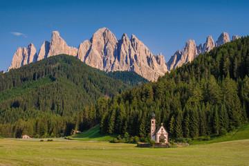 St. Johann mit Geisslerspitzen, Italien