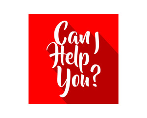 can i help you text icon typography typographic creative writing text image