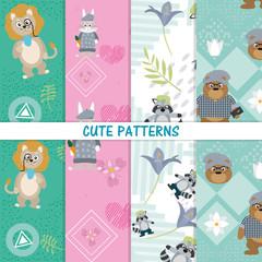 Cute animals patterns