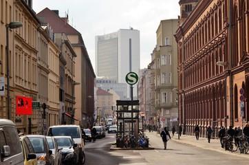Berlin Mitte street life