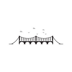 Bridge vector icon