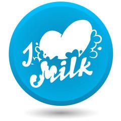 I Love Milk logo