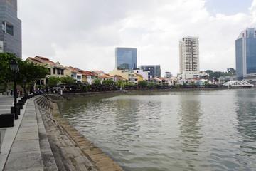 古きシンガポールの雰囲気を残すボートキー