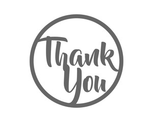 thank you typography typographic creative writing text image icon 3