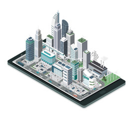 Smart city on a smartphone