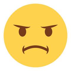 Emoji beleidigt