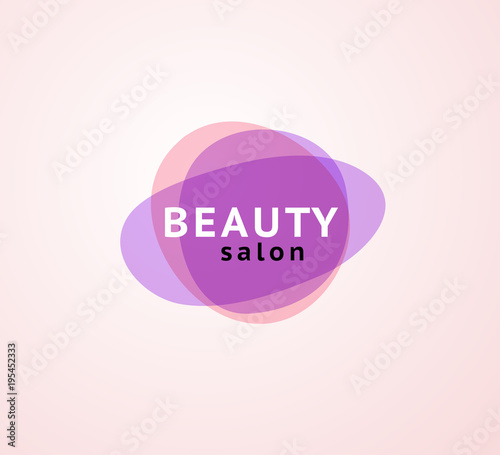 Vector Abstract Transparentlogo For Beauty Salon Beauty Spa Yoga